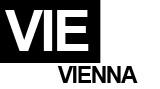 VIE - Vienna